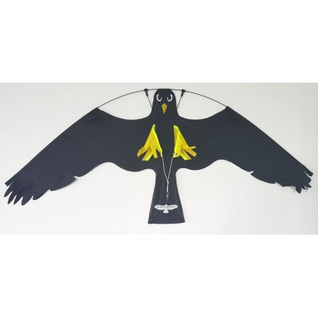 Cerf-volant effaroucheur - FlyTrac® - 100*50 NOIR