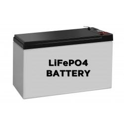 Batería Fosfato de litio hierro 12V 7.2AH