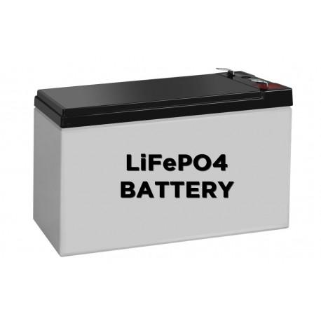 Batterie Lithium Fer Phosphate 12V 7.5 AH