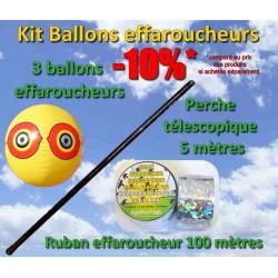 Kit ballons effaroucheurs