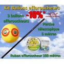 Vogelabwehrballons-Set