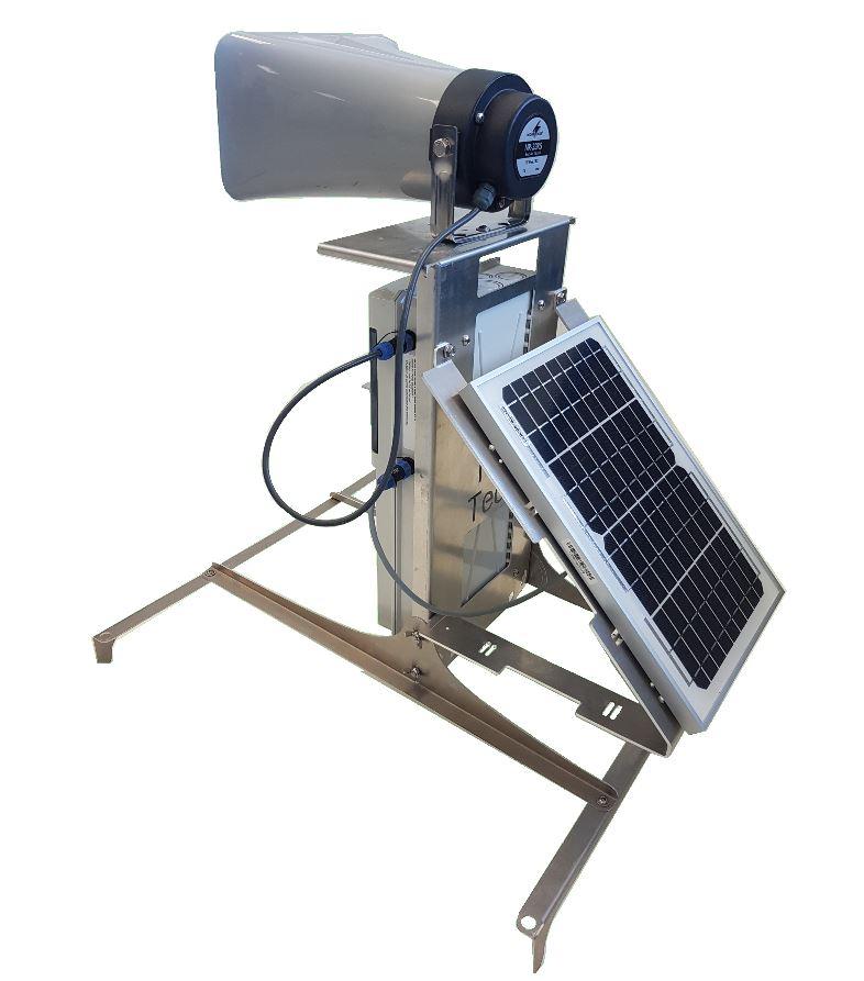 AviTrac panneau solaire effaroucheur autonome