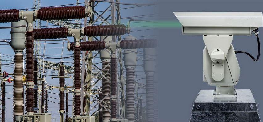 centrale électrique laser oiseaux