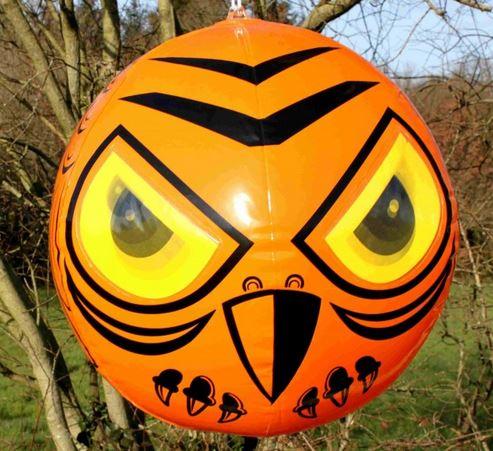 Panic eyes scare balloon